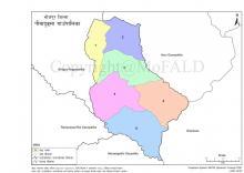 GIS map of Pauwadungma Rural Municipality.